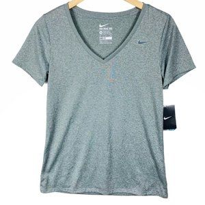 NWT Nike Women's Grey Classic Training Tee-MD